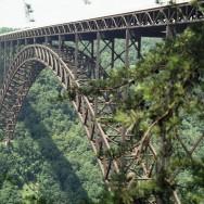 New River Gorge Bridge, WV Close-up