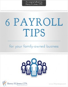 6 Payroll Tips eBook Cover